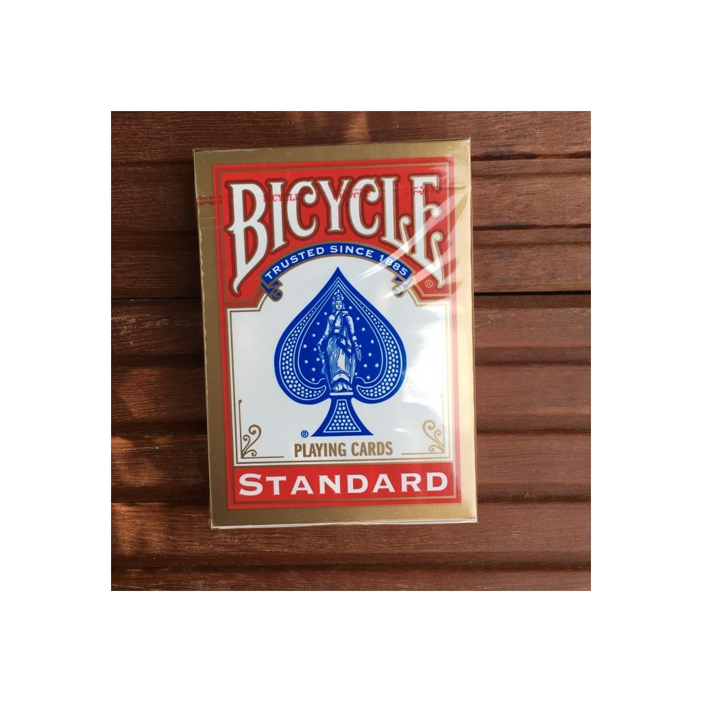 Bicycle Rider Back International Std. Index, Barva Červená