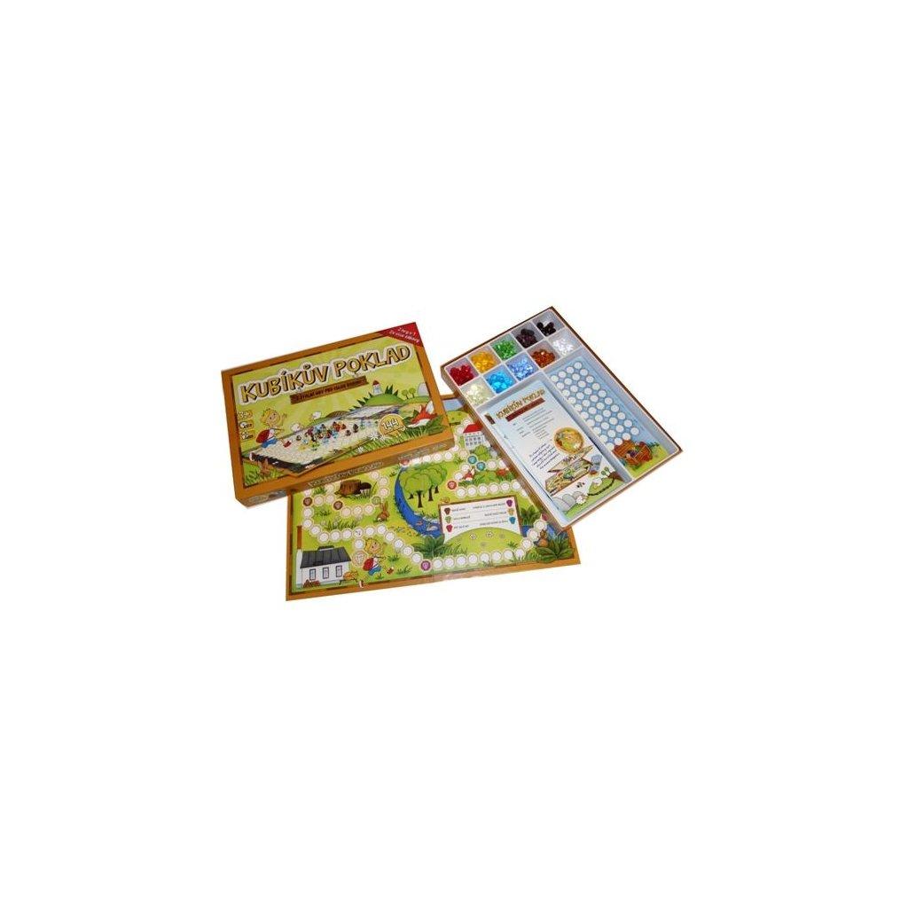 Hra Kubíkův poklad