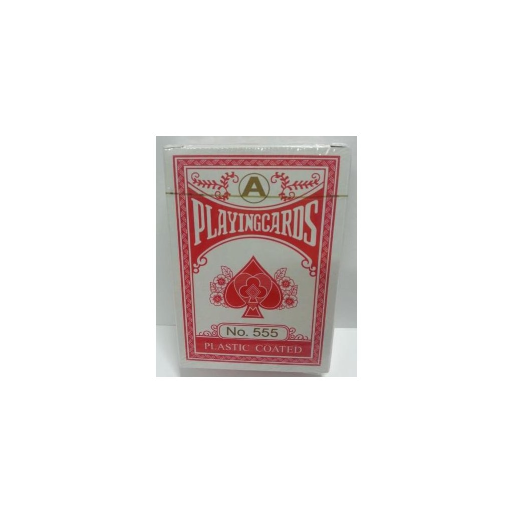 Playing Cards No. 555, Barva Červená