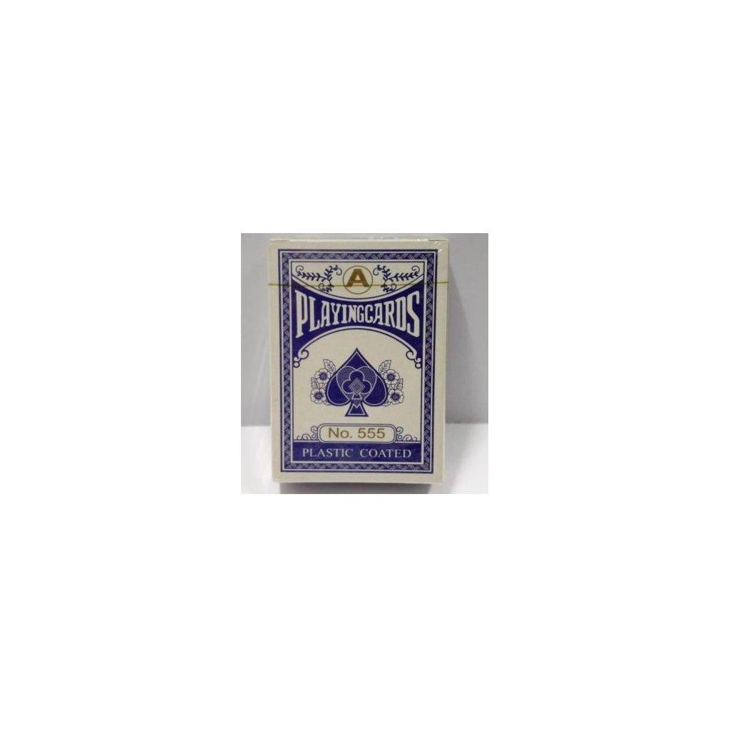 Playing Cards No. 555, Barva Modrá