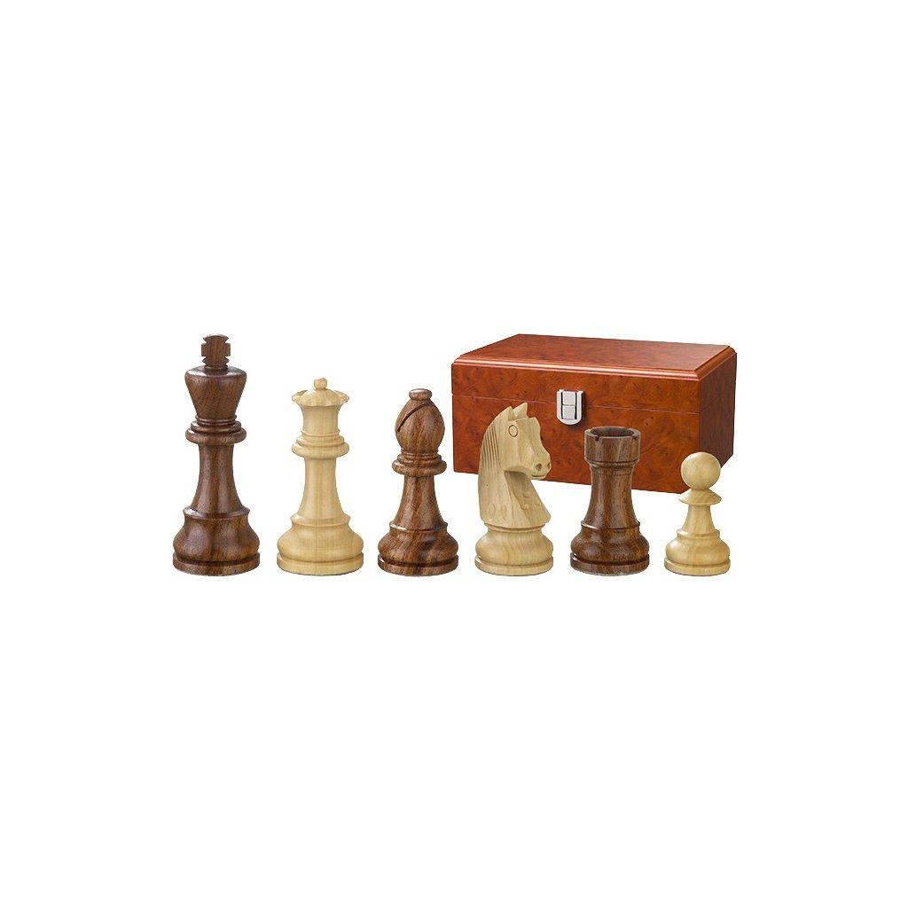 Šachové figury Philos Artus King 95mm + box