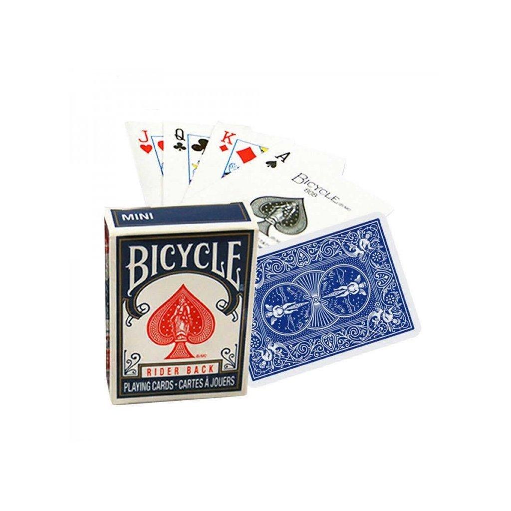 Bicycle Mini, Barva Modrá