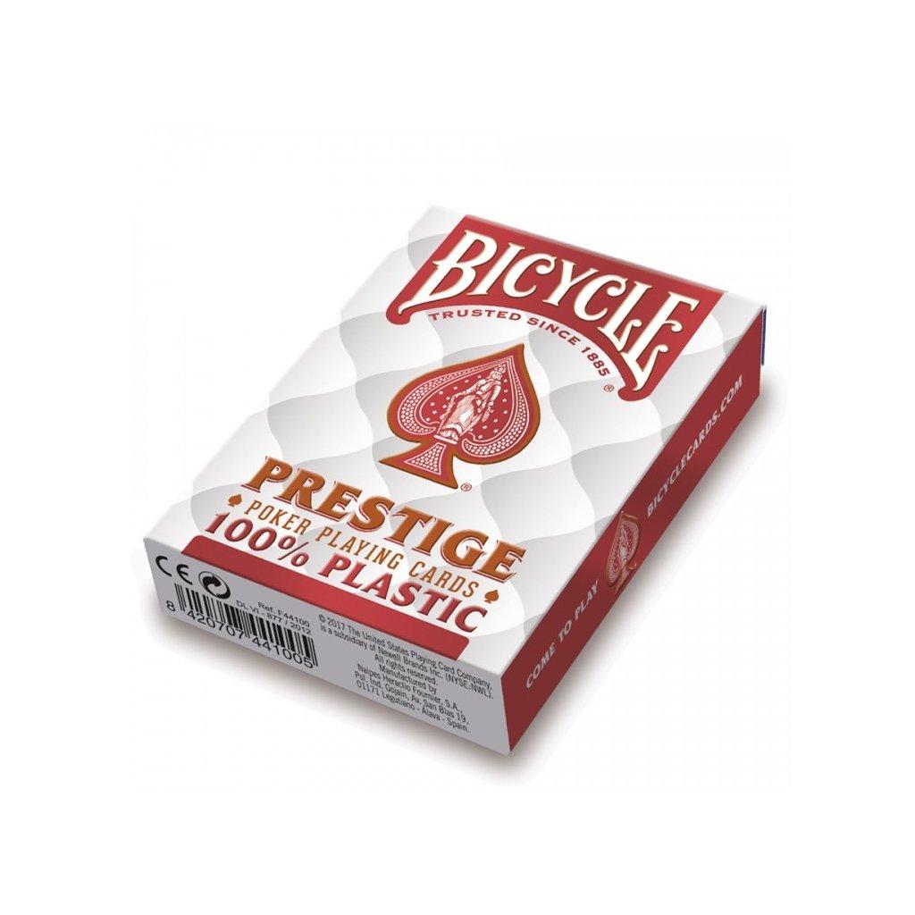 Bicycle Prestige Rider Back 100 % Plastic Jumbo RED