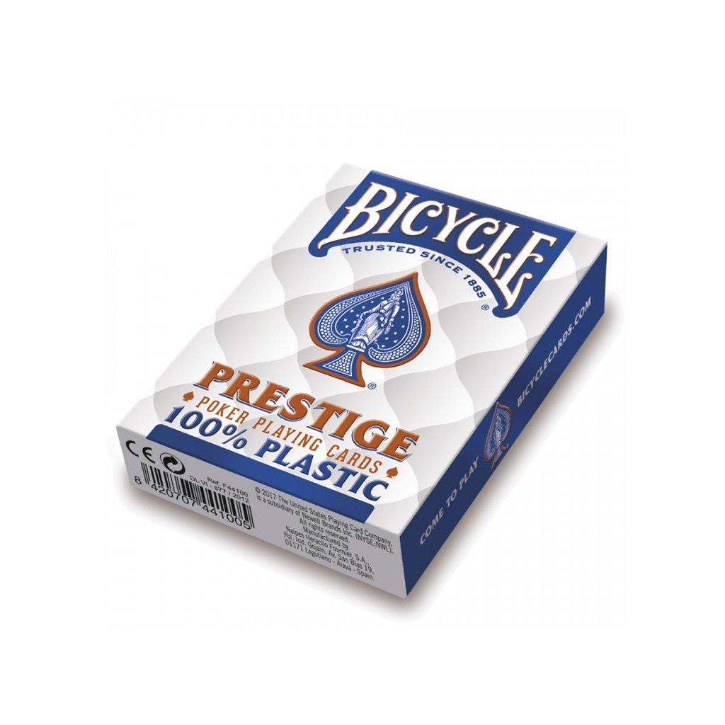 Bicycle Prestige Rider Back 100 % Plastic Jumbo BLUE