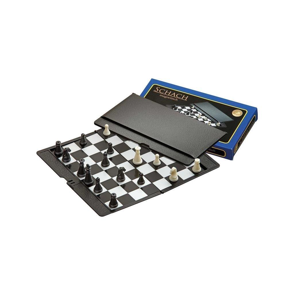 Šachy cestovní plastové magnetické Philos 17 x 10 cm