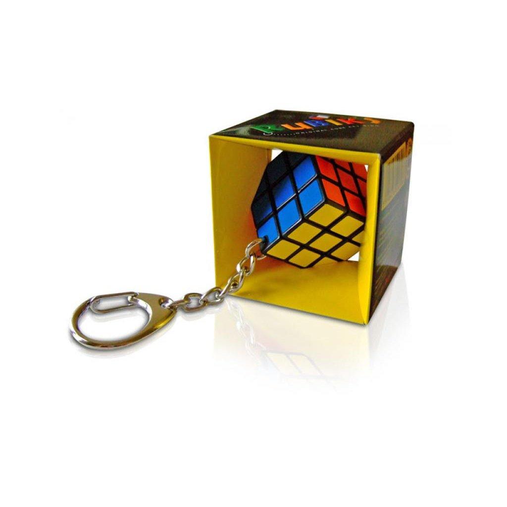 Rubikova kostka mini hlavolam přívěsek na klíče