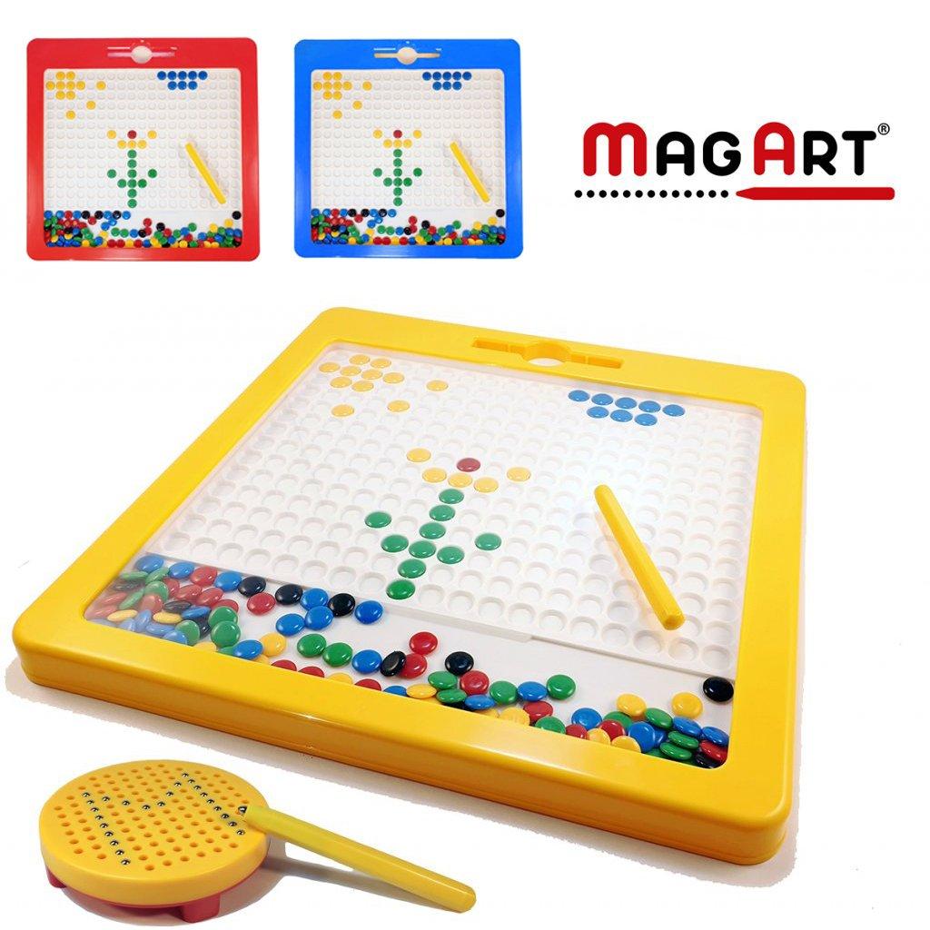 Magnetická kreativní tabulka MagArt