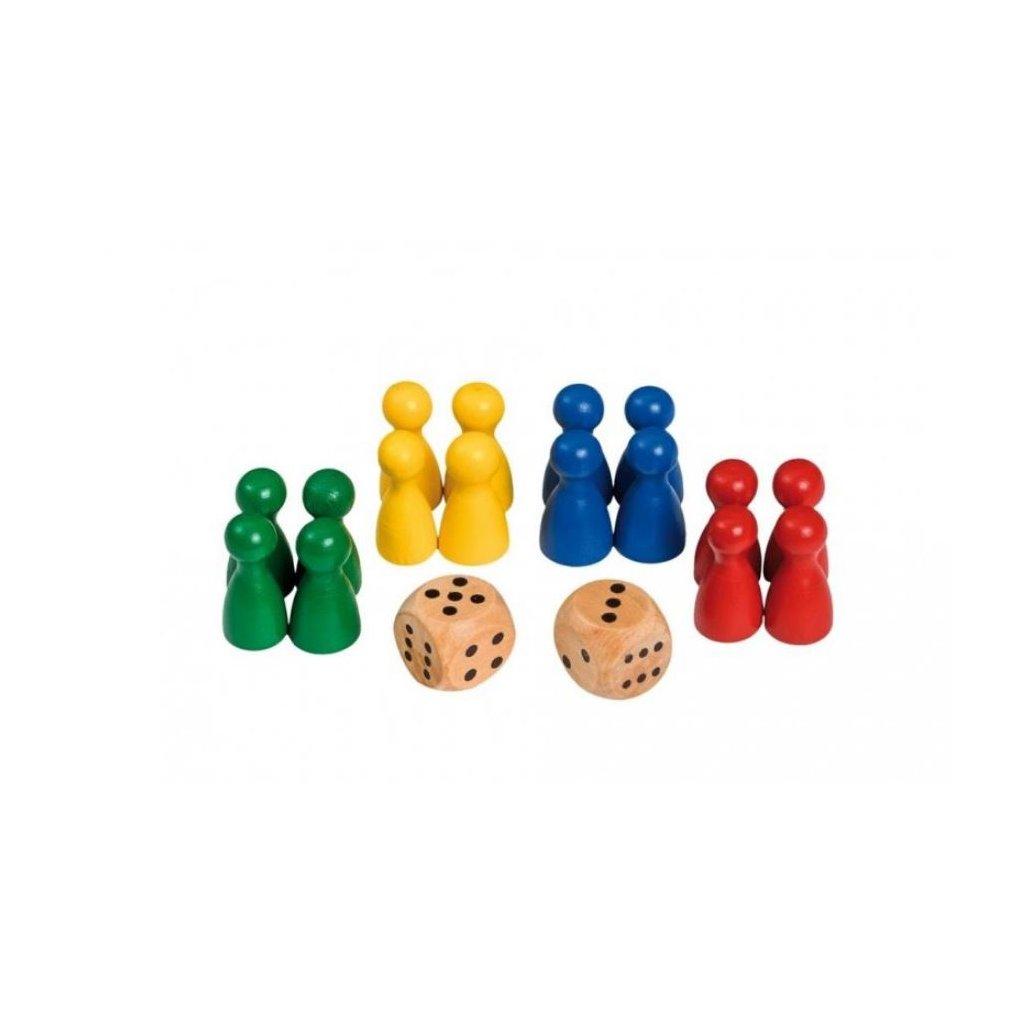 Hrací figurky s 2 kostkami Philos - Náhradní díl
