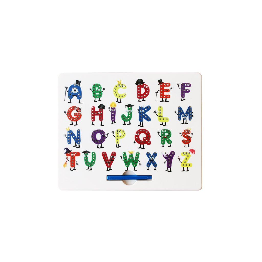 Magnetická kreslící tabulka MagPad - zábavná abeceda