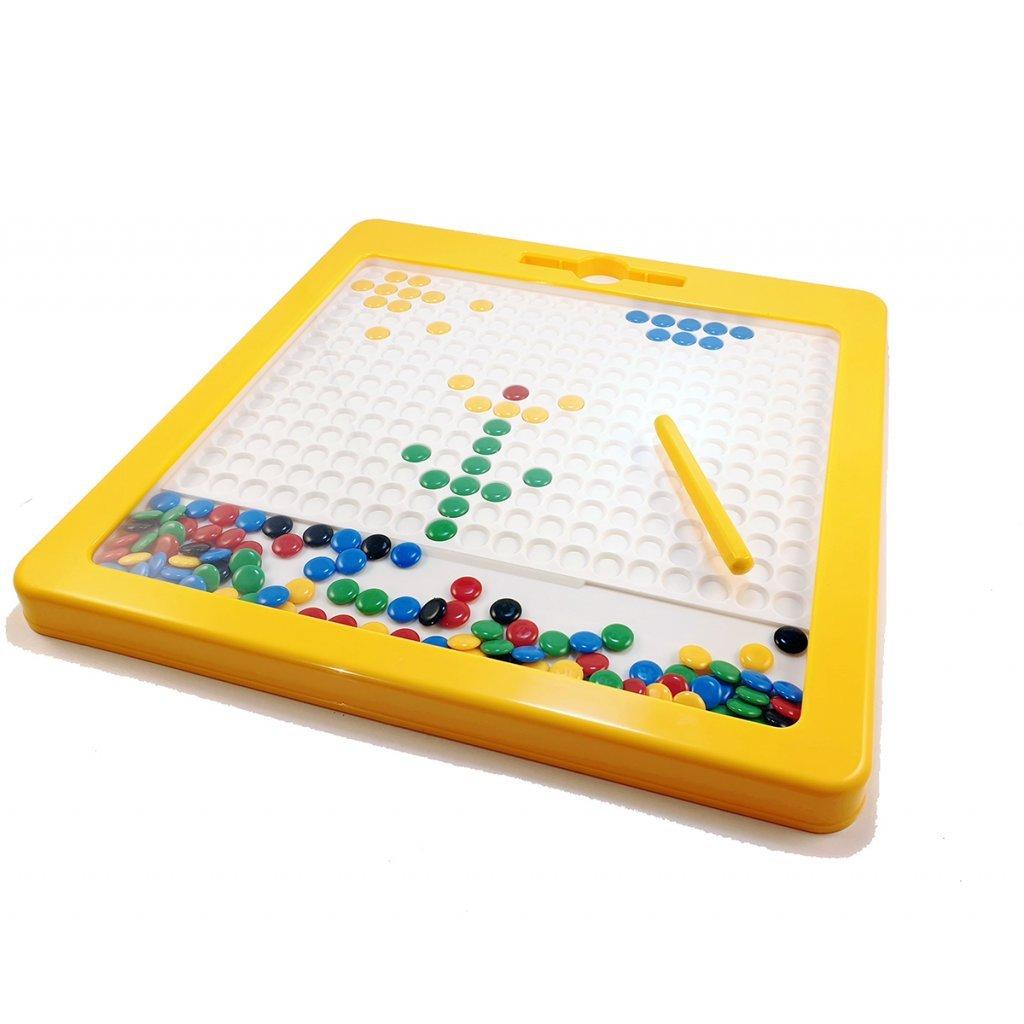Magnetická kreativní tabulka MagArt - rozbaleno