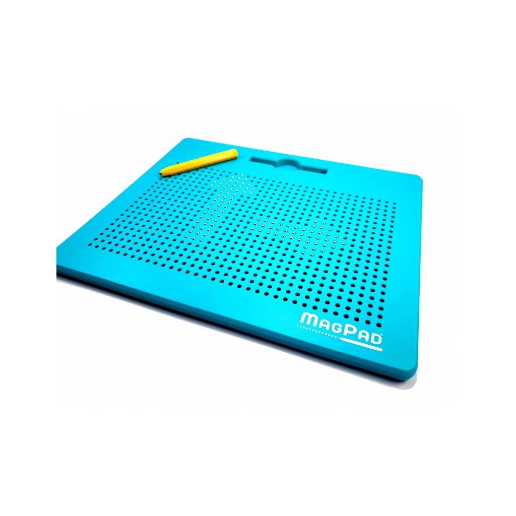 Magnetická kreslící tabulka Magpad Big 714 kuliček, Barva Zelená - Rozbaleno