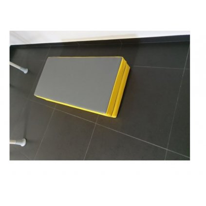 Suprafort žíněnka 100X100 žluto/modrá