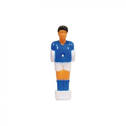 Hráč  pro stolní fotbal Buffalo  ᴓ 13mm, modrý