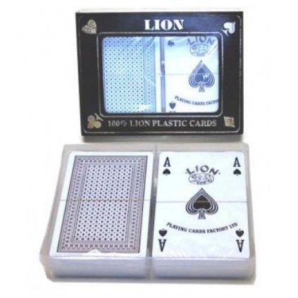 Lion 100 % Plastic Cards