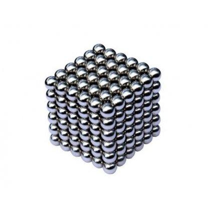 Magnetické kuličky Neocube Ø 5mm Puzzle NIKL