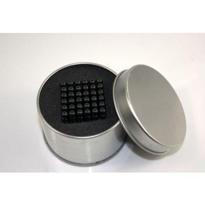 Magnetické kuličky Neocube Ø 5mm Puzzle BLACK