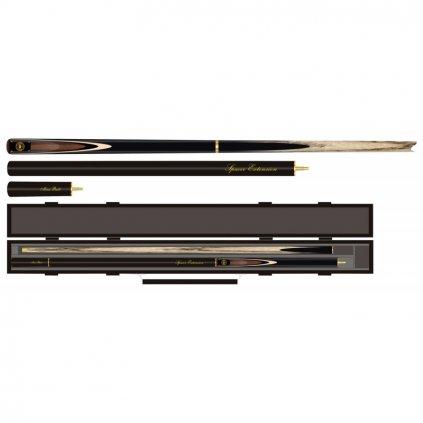 Tágo Buffalo 3/4 Snooker Premium Pack + Kufřík + Dárek Kulečníková křída Triangle modrá