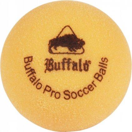 Míček stolní fotbal Buffalo Profi 6 ks žlutý
