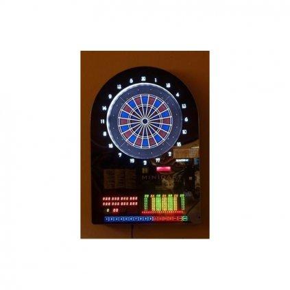 Šipkový automat Mini darts,mincovník 5 nebo 10 Kč Použitý