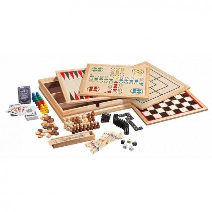Soubor her dřevěný Compendium 10