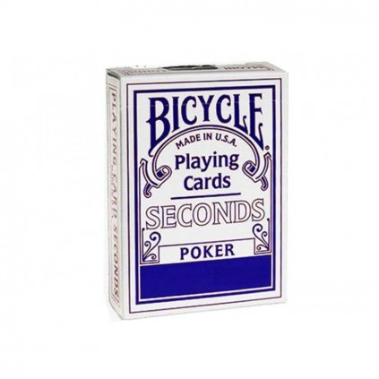 Bicycle Seconds Playing Cards, Barva Modrá
