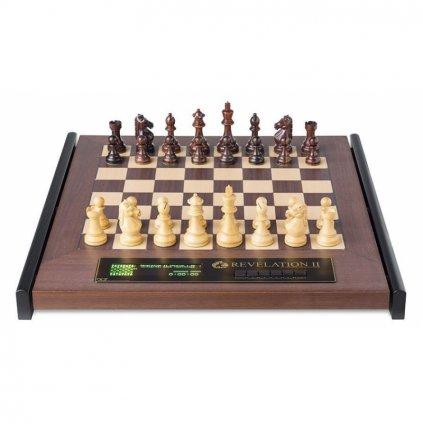 Šachový počítač Revelation II s figurami Royal
