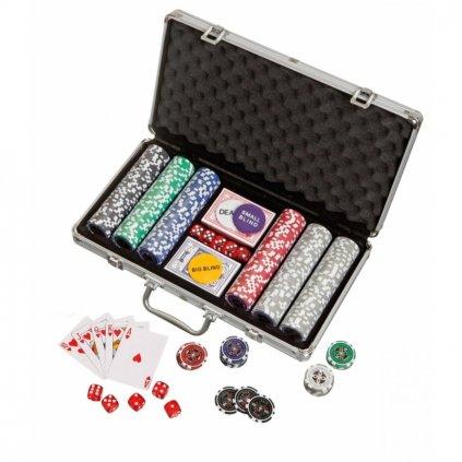 Pokerový kufřík 300 žetonů Philos PHILOS