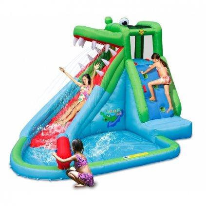 Happy hop Crocodile Pool vodní skluzavka