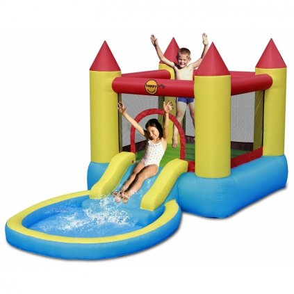 Happy Hop Skákací hrad s bazénkem a skluzavkou