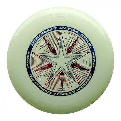 Frisbee Discraft UltraStar 175g Glow