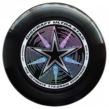 Frisbee Discraft UltraStar ČERNÉ 175g