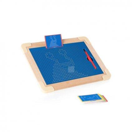 Magnetická kreslící tabulka Magpad De-luxe 713 kuliček