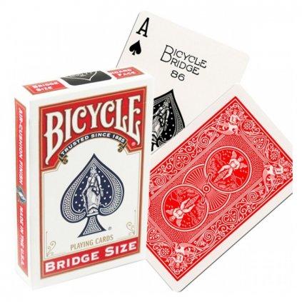 Bicycle Rider Back Bridge Size, Barva Červená
