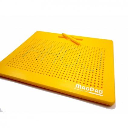 Magnetická kreslící tabulka Magpad Big 714 kuliček, Barva Žlutá