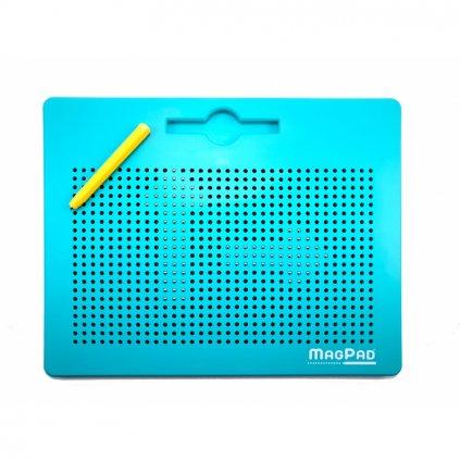 Magnetická kreslící tabulka Magpad Big 714 kuliček, Barva Zelená