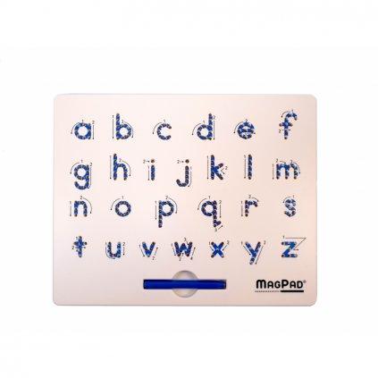 Magnetická kreslící tabulka Magpad Abeceda malá tiskací písmena