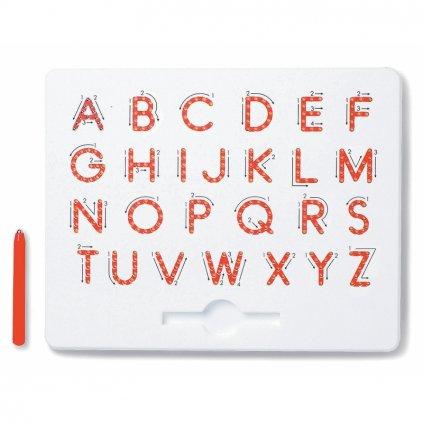 Magnetická kreslící tabulka MagPad Abeceda Velká tiskací písmena - Rozbaleno