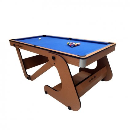 Kulečníkový stůl Riley sklopný 6ft + šipky 2v 1