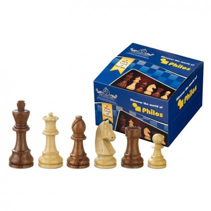 Šachové figury Philos Artus King 95mm