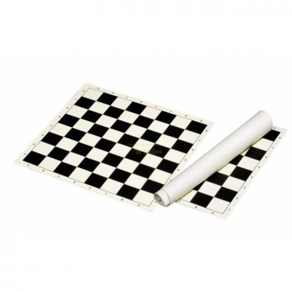 Šachové plátno černé, pole 58 mm