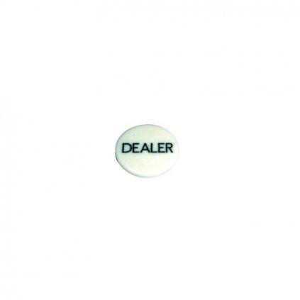 Dealer button gravírovaný plastový