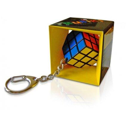 Mini Rubikova kostka hlavolam přívěsek na klíče