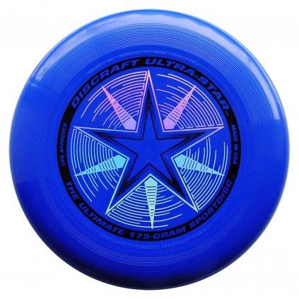 Frisbee Discraft Ultra Star Royal modré 175 g