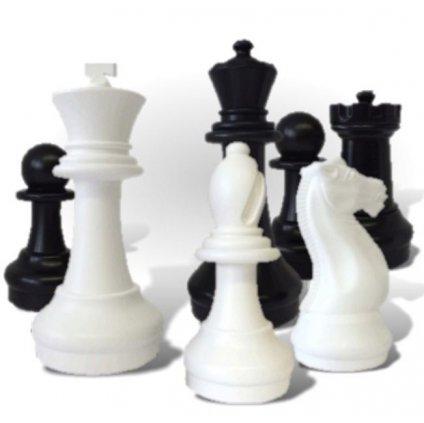 Šachové figurky zahradní 31cm - De -  Luxe