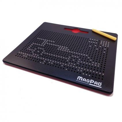 Magnetická kreslící tabulka MAGPAD Big 714 kuliček, Barva Černá