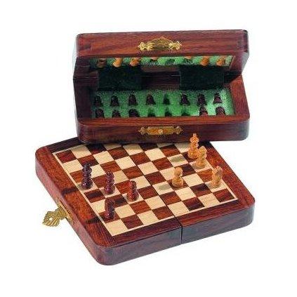 Šachy Indické cestovní magnetické mini