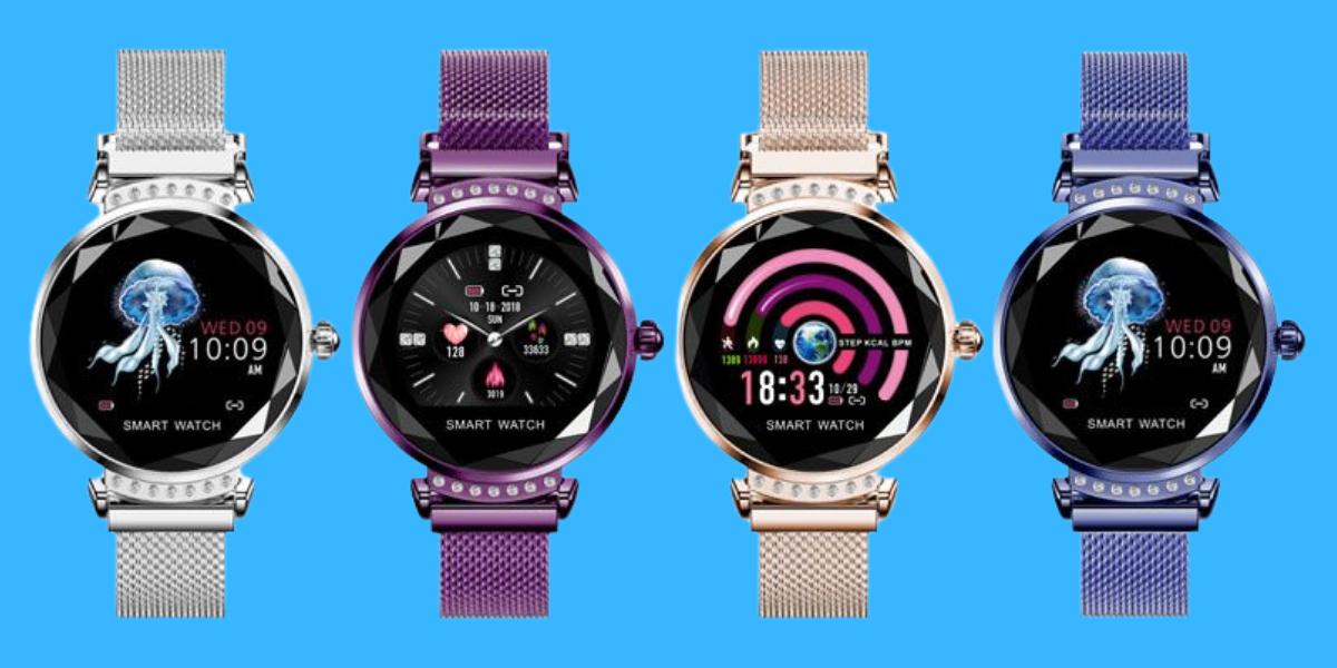 Tip na levné a elegantní dámské chytré hodinky: Smartomat Sparkband