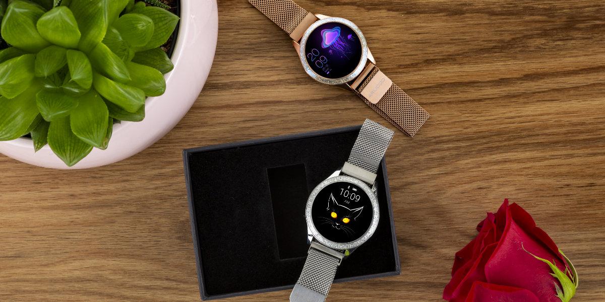 Recenze: Chytré dámské hodinky ARMODD Candywatch Crystal stříbrná