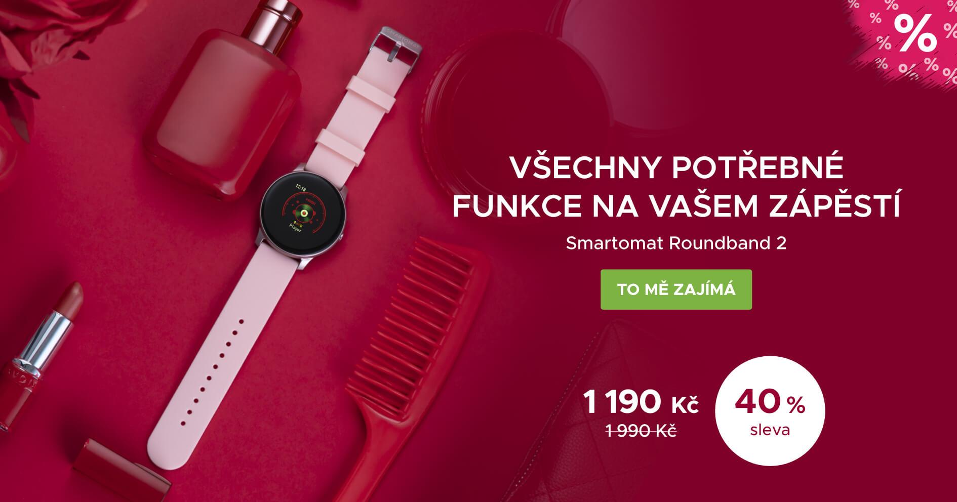 Smartomat Roundband 2 - růžová