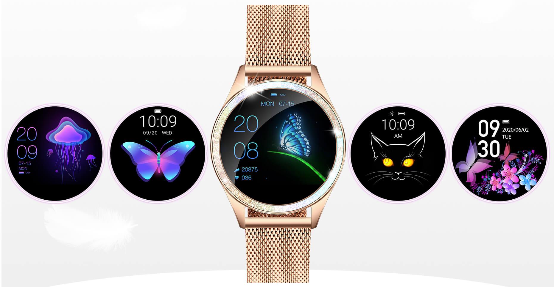 ARMODD Candywatch Crystal - dámské chytré hodinky